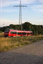 berlin-a-brandenburg/289081/442-631-8-als-rb21-rb-18678 442 631-8 als RB21 (RB 18678) von Potsdam Griebnitzsee nach Wustermark in Satzkorn. 23.08.2013